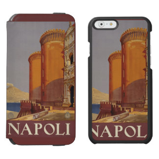 Napoli (Naples) Italy vintage travel custom cases Incipio Watson™ iPhone 6 Wallet Case