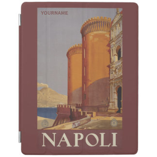 Napoli Naples Italy vintage travel device covers iPad Cover