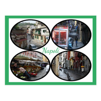 Napoli Street Scenes Postcard