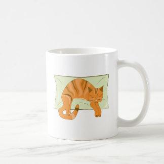 Napping Kitty Coffee Mug