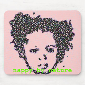 Nappy by Nature Mousepad