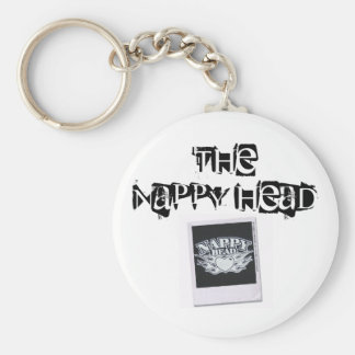 Nappy Head Keychain