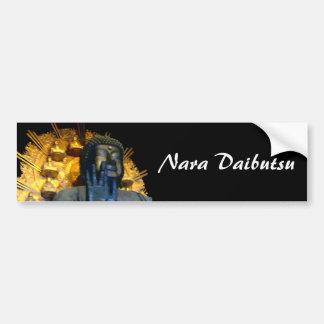 Nara Buddha / Nara Daibutsu Bumper Sticker