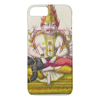 Narasimha, engraved by de Marlet (colour litho) iPhone 8/7 Case