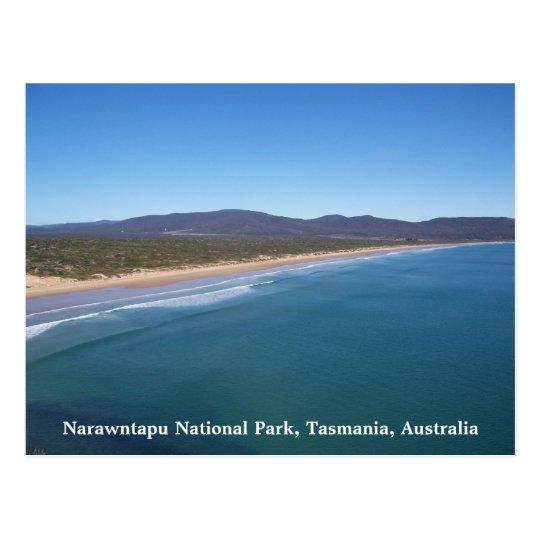 Narawntapu National Park, Tasmania, A... Postcard