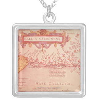 Narboneus Gaul Silver Plated Necklace