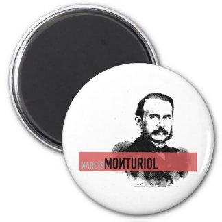 Narcís Monturiol 6 Cm Round Magnet