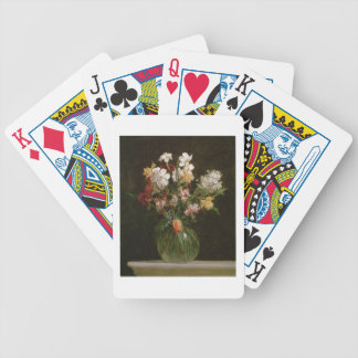Narcisses Blancs, Jacinthes et Tulipes, 1864 Bicycle Playing Cards