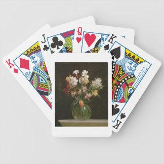 Narcisses Blancs, Jacinthes et Tulipes, 1864 Poker Deck