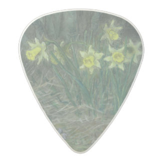 Narcissi and Violets, c.1867 Acetal Guitar Pick