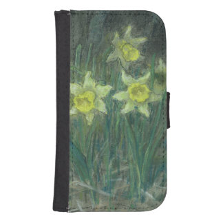Narcissi and Violets, c.1867 Samsung S4 Wallet Case