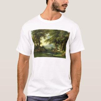 Narcissus Admiring his Reflection T-Shirt