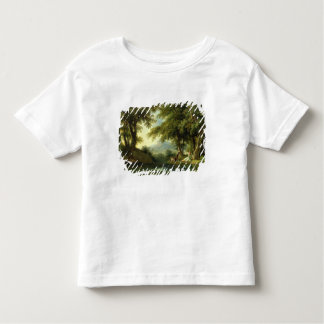 Narcissus Admiring his Reflection Toddler T-Shirt