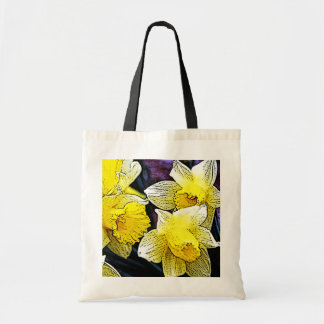 Narcissus Budget Tote Bag