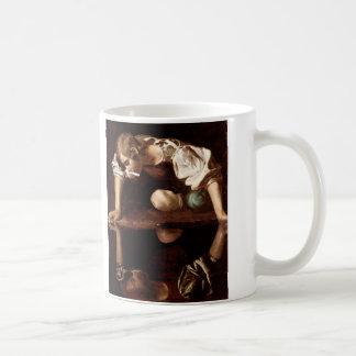 Narcissus, Caravaggio Coffee Mug