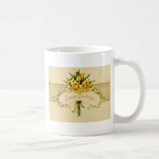 Narcissus Daffodil Lily of The Valley Easter Basic White Mug