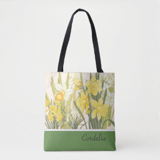 Narcissus, Daffodils and Jonquils Tote Bag