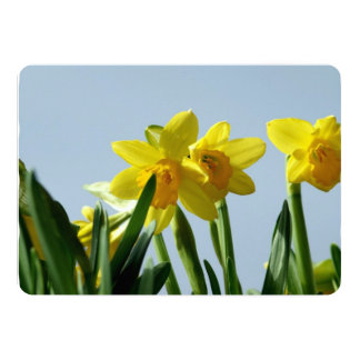 Narcissus 5x7 Paper Invitation Card
