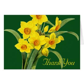 Narcissus (N Tazetta) Note Card