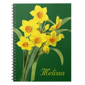 Narcissus (N Tazetta) Notebooks
