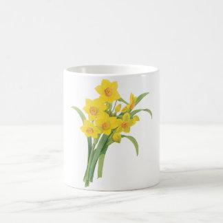 narcissus(Narcissus tazetta) by Redouté Basic White Mug