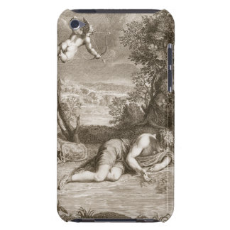 Narcissus Transformed into a Flower, 1730 (engravi iPod Touch Covers