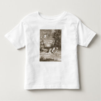 Narcissus Transformed into a Flower, 1730 (engravi Toddler T-Shirt