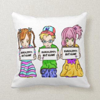 NARCOLEPSY: NOT ALONE™ Fun Pillow