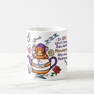 Narcolepsy UK, Narcoleptic Dormouse. Mug