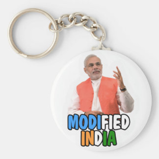 Narendra Modi Collection Basic Round Button Key Ring