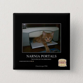 Narnia Portals 15 Cm Square Badge
