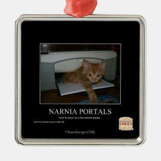 Narnia Portals Christmas Ornament