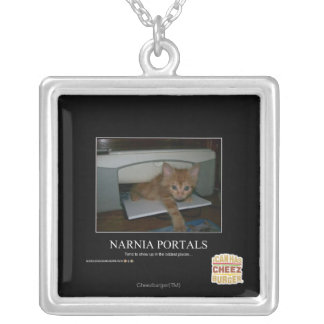 Narnia Portals Silver Plated Necklace
