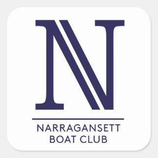 Narragansett Boat Club Glossy Square Sticker