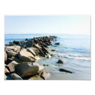 Narragansett Rhode Island Beach Print Photo Print