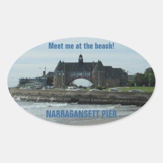 NARRAGANSETT stickers (4)