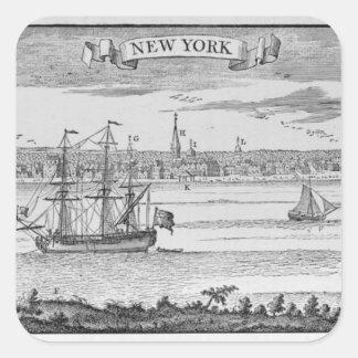Narrative and Critical History of America' Square Sticker
