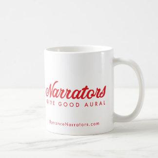 Narrators Give Good Aural +web Coffee Mug