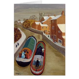 Narrow Boats Card