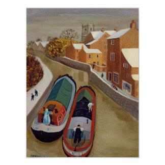 Narrow Boats Poster