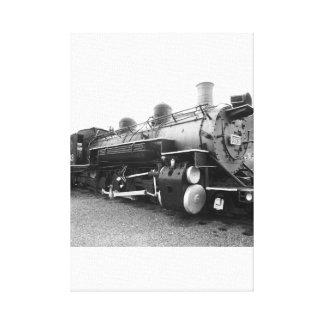 Narrow Gauge Steam Engine Canvas Print