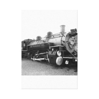 Narrow Gauge Steam Engine Gallery Wrapped Canvas