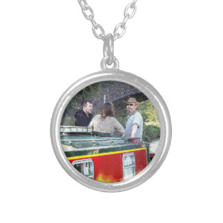 Narrowboat boat Peace Coventry Canal Nuneaton Necklace