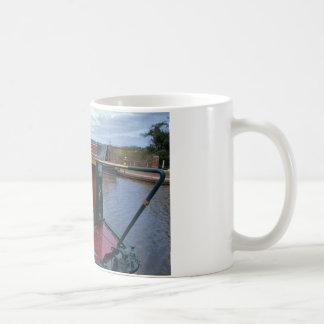 Narrowboat Illustrious Basic White Mug