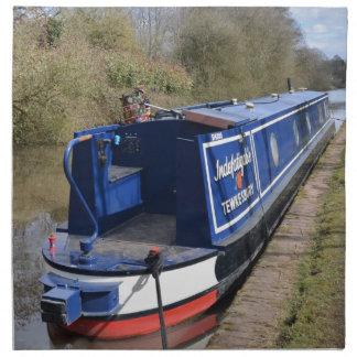 Narrowboat Indefatigable Napkin