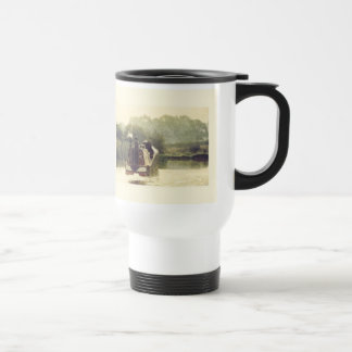 Narrowboat on the Ashby Travel Mug