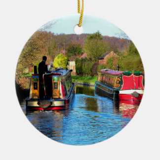 NARROWBOATS CHRISTMAS ORNAMENT