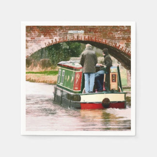 NARROWBOATS DISPOSABLE NAPKIN