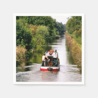 NARROWBOATS DISPOSABLE SERVIETTE