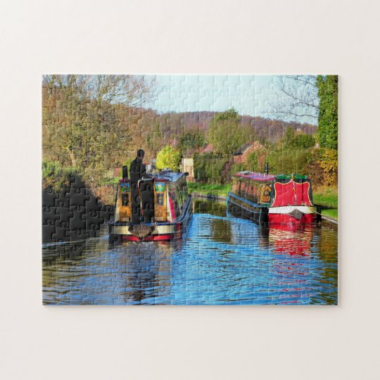 NARROWBOATS JIGSAW PUZZLE